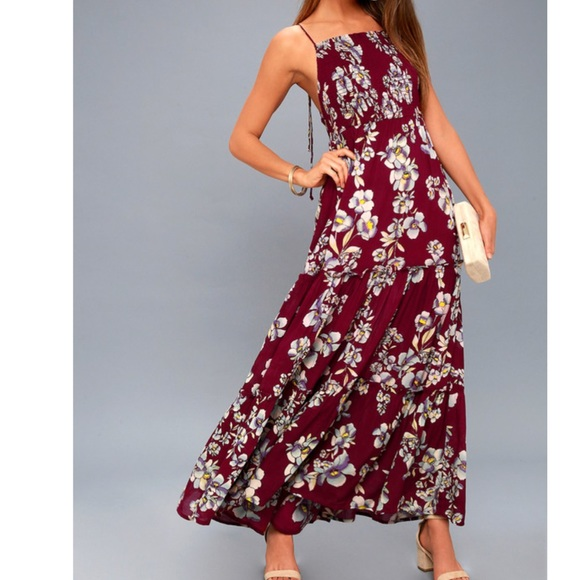 c7bccafae8b Free People Dresses   Skirts - NWT💥Free People Garden Party Maxi Floral  Dress
